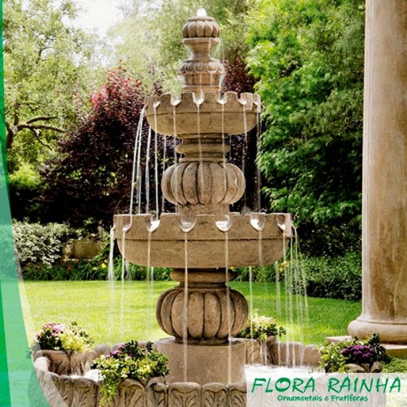 Fontes para Jardim Valor Jardim Guarapiranga - Vaso de Polietileno para Jardim