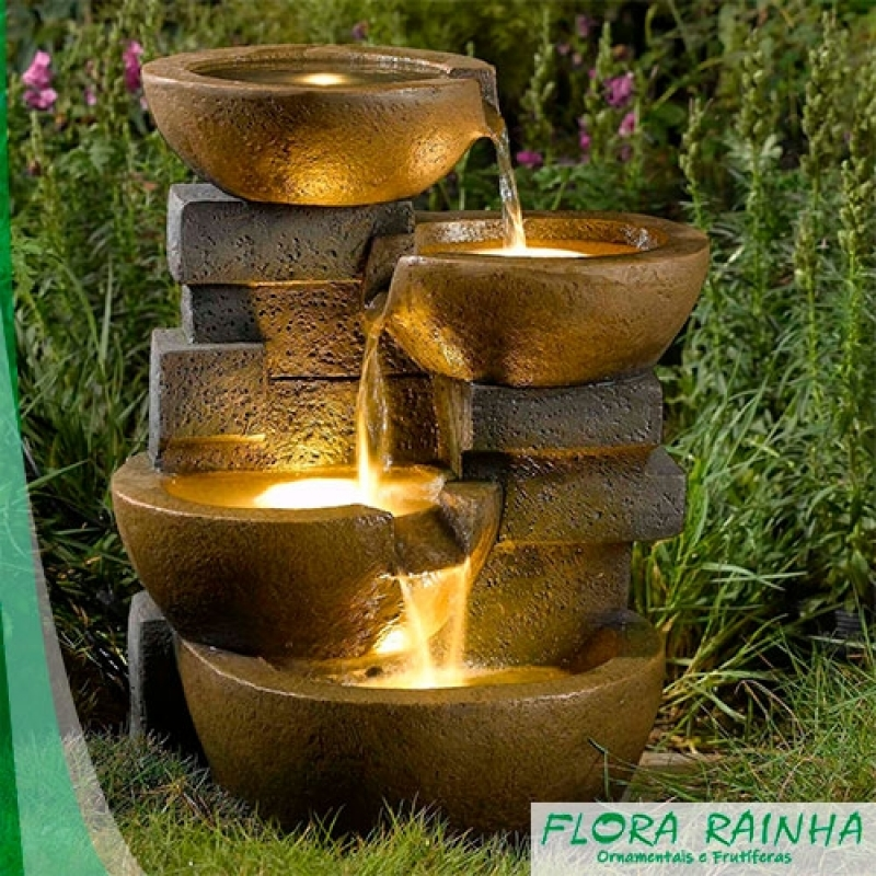 Fontes para Jardim Riviera de São Lourenço - Vasos Vietnamitas para Jardim
