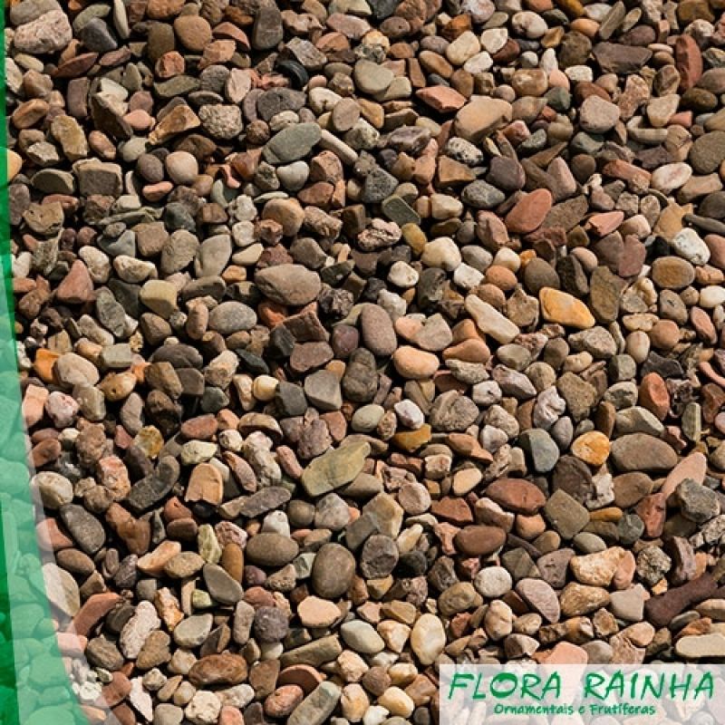 Seixos para Jardim Valor Vinhedo - Pedra Branca para Jardim
