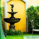 onde comprar fontes para jardim Sacomã