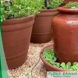 onde comprar vaso de barro para jardim Nova Piraju
