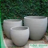 onde comprar vaso de cimento para jardim Santos