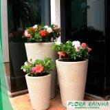 onde comprar vaso de polietileno para jardim Cesário Lange