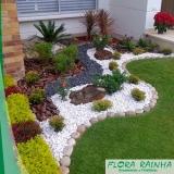 onde vende pedras decorativas para jardim Santo André