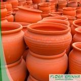 onde vende vaso de barro para jardim Campo Limpo