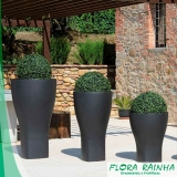 onde vende vaso de polietileno para jardim Rio Grande da Serra