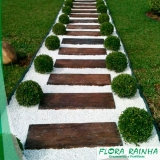 pedra branca para jardim Perus