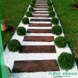 pedra branca para jardim Santa Isabel