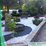 pedras decorativas para jardim valor Parque do Otero
