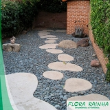 pedras decorativas para jardim Vila Suzana