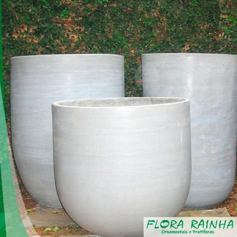 Vaso de Cimento para Jardim Vila Mariana - Vaso de Cimento para Jardim